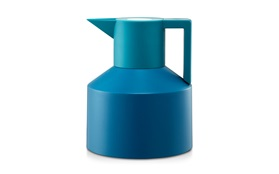 Geo vacuum flask blue sideview
